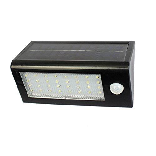 Im Licht Bewegung Empfindlich Freien (3-in-1 LED-Sicherheits-Lichter, Solarbetriebene Lichter im Freien Wand-Lampe Wasserdichte Solarlichter mit 120 Grad Weitwinkel-Bewegungs-Sensor Solar für Garten, Patio, Gehweg-Beleuchtung)
