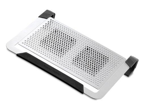 Cooler Master R9-NBC-U2PS-GP Notepal U2 Plus Aluminum Cooling Pad (346x282x60mm) für Notebook silber (Laptop Cooling Cooler Pad Von Master)