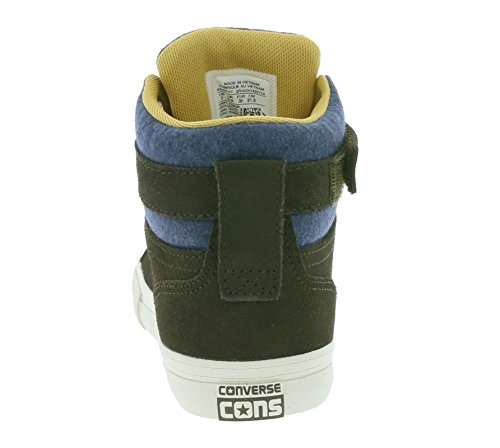 Converse 654371c Pro Blaze Strap Hi, Sneaker bambini Braun Kombi