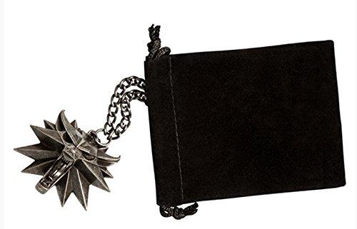 Namco The Witcher 3: Wild Hunt Tête de Loup Collier Médaillon à partir de Collectors Edition Bandai/Warner Brothers