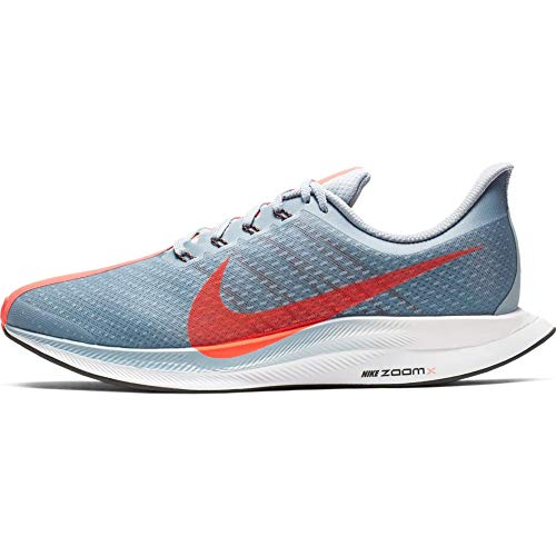 Nike Zoom Pegasus 35 Turbo, Zapatillas de Atletismo para Hombre, Multicolor (Obsidian Mist/Bright Crimson/Vast Grey 000), 42 EU