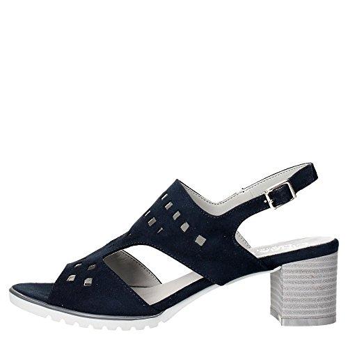 Cinzia Soft IV5777-GS Sandalo Donna Camoscio Blu Blu 37
