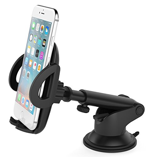 Vantrue? Supporto auto porta cellulare-M1360¡ã rotazione universale supporto da auto per iPhone 766S Plus se 5S, Samsung Galaxy S7S6Edge S5, Nexus 6P, LG G4, Blackberry, HTC M9e altri smartphone Android