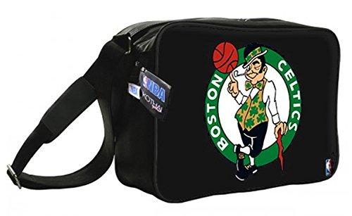 Kothai x NBA Boston Celtics Reporter Bag Black Tasche Handtasche Umhängetasche