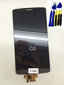 Gris écran tactile LCD/numériseur Cadre pour LG G3 D850/VS985 D851 D855 LS990