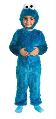 Sesame St Cookie Monster 2t (2t Kostüme Monster)