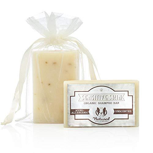 Natural Dog Company Shampoo für empfindliche Haut, natürliche Heilung, organisch und vegan -