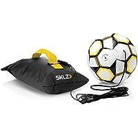 Sklz Unisex Kick Back Football Strike and Pass Trainer 5, Yellow, Size 5