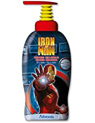 Marvel Studios - MS 73630 - Gel Bain Douche - Iron Man - Thé et Cèdre