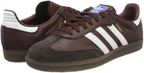 41mN%2BRvQquL - adidas Unisex Adults Samba Low-Top Sneakers, 9 UK
