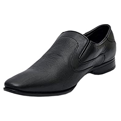 Cooper England's Men's Pure Leather Black Formal Shoes - UK 10