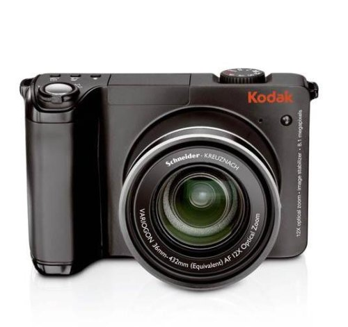 Kodak Easyshare 8 (Kodak Z8612 is Digitalkamera (8 Megapixel, 12-Fach Opt. Zoom, 6,4 cm (2,5 Zoll) Display, Bildstabilisator) schwarz)
