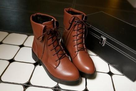 &ZHOU Unisex-adulti 'Boots autunno e l'inverno stivali Martin stivali stivali Cavaliere Brown