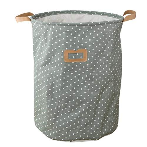 Delicacydex Wasserdichte Faltbare Wäschebeutel Schmutzige Kleidung Korb Wäschebehälter Lagerung Spielzeug Sammlung Große Gefaltete Baumwolltuch -
