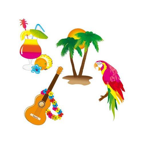 Hawaii-Dekoration