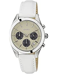 (CERTIFIED REFURBISHED) DKNY Chronograph Beige Dial Women's Watch - NY8767#CR