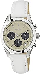 (CERTIFIED REFURBISHED) DKNY Chronograph Beige Dial Womens Watch - NY8767CR