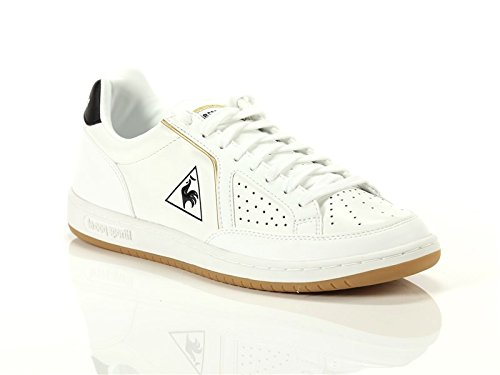Le Coq Sportif Hommes Blanc / Noir Icônes Sneaker Blanc
