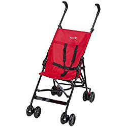 Safety 1st - Poussette Canne Fixe Peps - Collection 2017, Plain Red