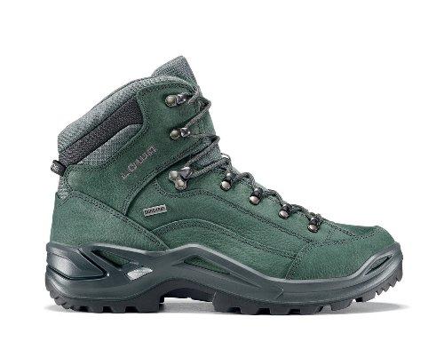 Lowa Renegade Gtx Mid, Chaussures dEscalade Homme gris/vert