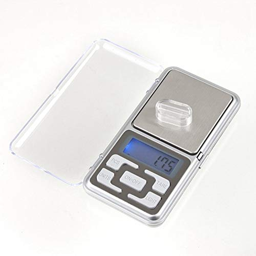ZHANGYUGE Mini Präzision Digitale Waage für Gold Silber Messwerkzeuge Maßstab Schmuck 0,01 Balance Gewicht elektronische Waagen, 100G -0,01 G