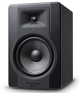 """M-Audio BX8 D3 Monitor da Studio Attivo Biamplificato da 150 W con Woofer da 8"""" e Controllo Acoustic Space, Riferimento per Produzione Musicale e Mixaggio"""