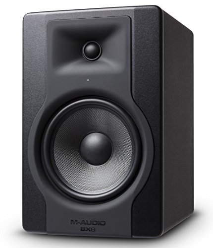M-Audio BX8 D3 Altoparlanti Monitor Professionali, Biamplificato da 150 W con Woofer da 8' e Controllo Acoustic Space