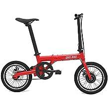 Bicicleta Eléctrica Plegable para Adultos De 16 Pulgadas, Batería De Litio De 36 V para