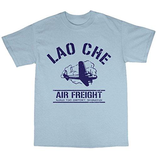 Lao Che Air Freight T-Shirt 100% Baumwolle Hellblau