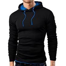 Grin&Bear Slim Fit Hoodie Kapuzenpullover Sweatshirt Jacke Hemd