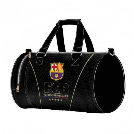 Karactermania FC Barcelona Bolsa de Viaje, 55 cm, 33 litros, Negro