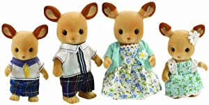 Sylvanian Families Red Deer Famille