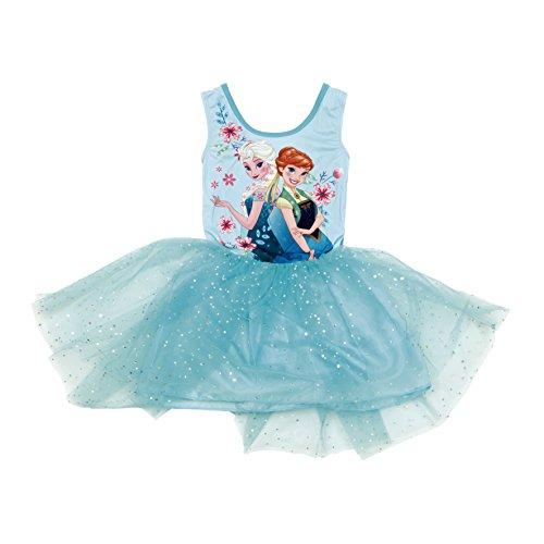 Arditex–wd9512–Kostüm Kleid Ballettmusik–Frozen–4bis 8Jahre–Blau