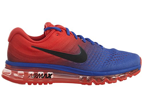 Nike 849559-001, Sneakers trail-running homme PARAMOUNT BLUE/BLACK-MAX ORANGE