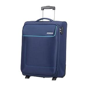 American Tourister – Funshine – Upright Equipaje de mano 55 cm, 39 L, Azul (Orion Blue)