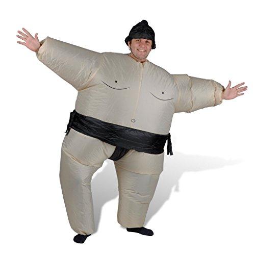 Kostüm Aufblasbar Faschingkostüm Karneval Spaß Costume Verkleidung (Sumo-halloween-kostüm)