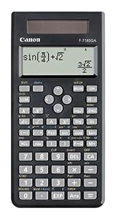 Calculadora científica Canon F-718SGA Negra (B0036FX9Q8) | Amazon Products