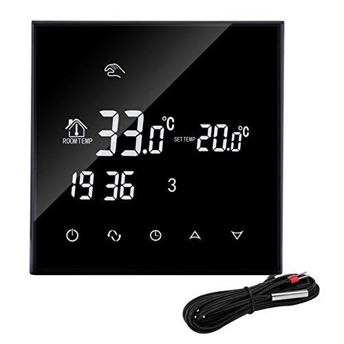 BlackEdragon HY03WE-4 Intelligente Raumthermostat WiFi Elektrische Heizung Temperaturregler Regler App Regelbarer Thermostat -