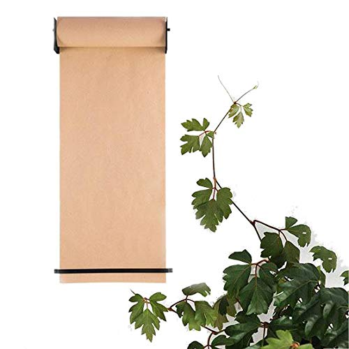 Vakiko Rollo de Papel Kraft Dispensador, Dibujo Papel Reutilizable para Oficina Pared Decor La HabitacióN Los NiñOs