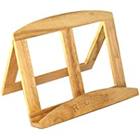 Easel Style Foldaway Wooden Recipe Cook Book Stand