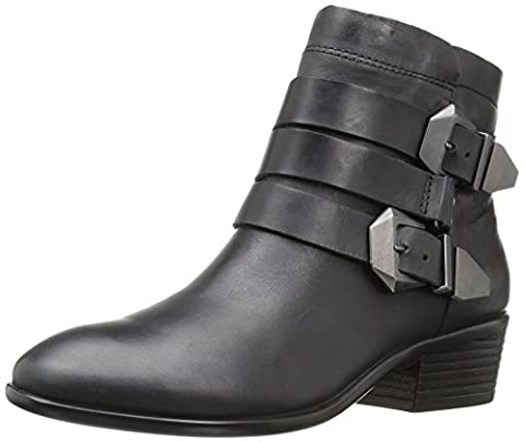 Aerosoles Women's My Time Boot, Black Leather, 11 M