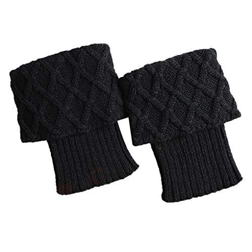 Zerama 1 Warmers Coppia Donne Inverno Crochet Boot Polsini Venduti Boot Calzini del Piedino Solido Scaldamuscoli Ragazze Lady
