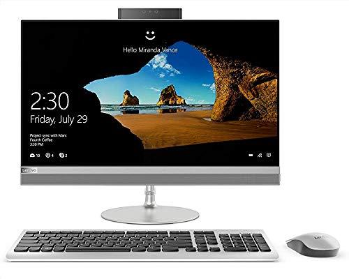 "Lenovo IdeaCentre AIO 520-24ICB - Ordenador sobremesa 24"" FullHD (Intel Core I5-8400T, 8GB RAM, 1TB HDD + 128GB SSD, Intel Graphics, Windows10) Plata - Teclado QWERTY español + Ratón USB"
