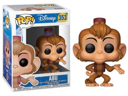 Funko- Disney: Aladdin: Abu Pop! Vinilo,, 9 cm (24923)