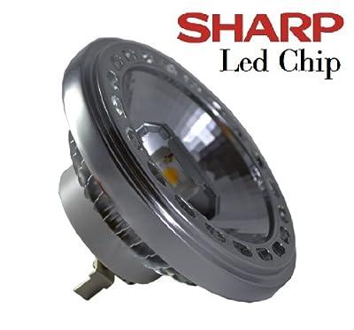 Led Spot Strahler Lampe Ar111 G53 Led 15w Sharp 12v Warmweisses Licht von Akshopping