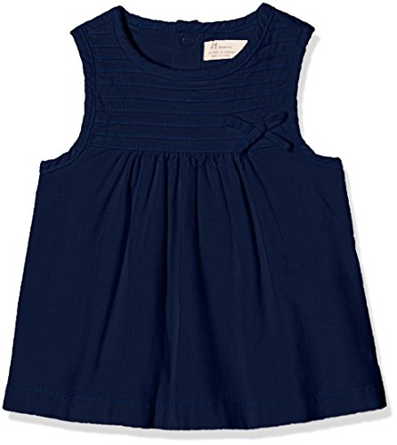 Zippy Baby-Mädchen Kleid ZNG21_410_22, Blau (Dress Blue 19-4024), 62 - Blau Mädchen Kleid