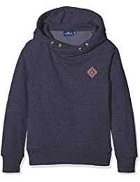 Tom Tailor Hoody with Badge, Sweat-Shirt à Capuche Fille
