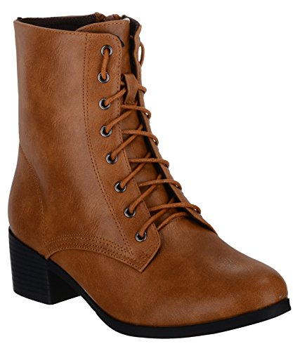 Shuz Touch TAN Boots (SIZE-36)