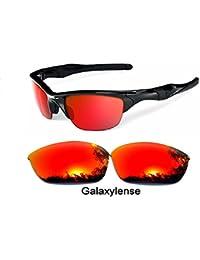 f934cad4ae032f galaxylense homme verres de rechange pour Oakley Half Jacket 2.0 Lunettes  de soleil verres polarisés Rouge
