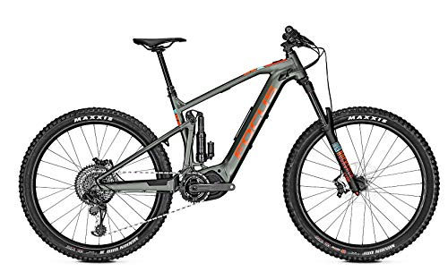 Focus Sam² 6.9 Shimano Steps Fullsuspension Elektro Enduro Mountain Bike 2019 (L/48cm, Olive)